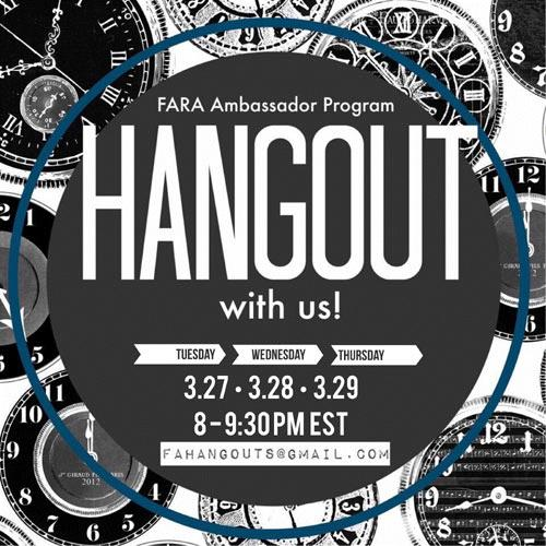FAHangouts March18 2