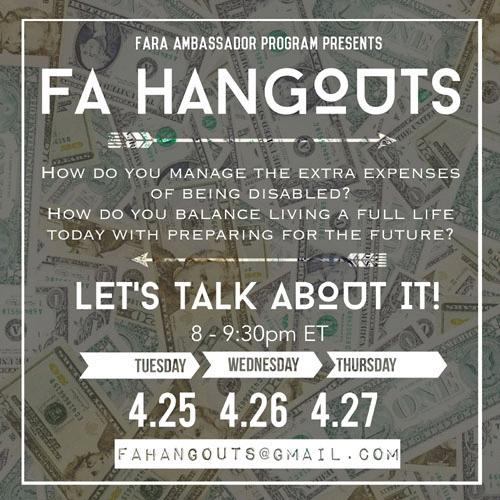 FAHangouts April17