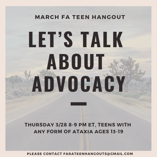 March Teen Hangout